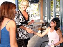 Kayden Faye Jaclyn Case & Kelli Tyler on pinkvisualpass
