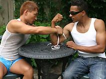 Bruce and Neo on malespectrumpass
