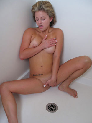 Shower Solo on herfirstanalsex
