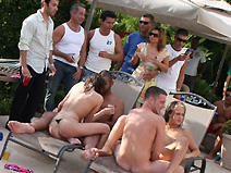 Poolside Pandemonium on orgysexparties