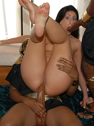 Luscious Lopez - V2 on herfirstbigcock
