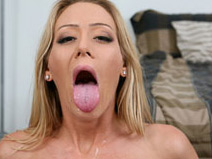 Leah Moore - V2 on herfirstanalsex