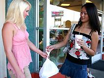 Evelyn Lin & Jocelyn Jayden - V2 on virginteenlesbians