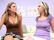 Stacee Morgan & Scarlet Summers - V2 on virginteenlesbians