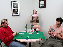 Crazy Game of Poker - V2 on herfirstanalsex