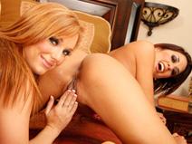 Dani Jensen & Lyla Storm on virginteenlesbians