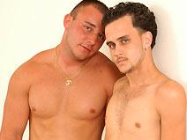 Tony & Jordan - V2 on gayblinddatesex